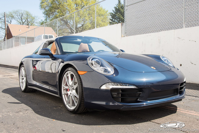 2016 Porsche Targa 4S - Elite Enhancement Service & Premium Wheel Service