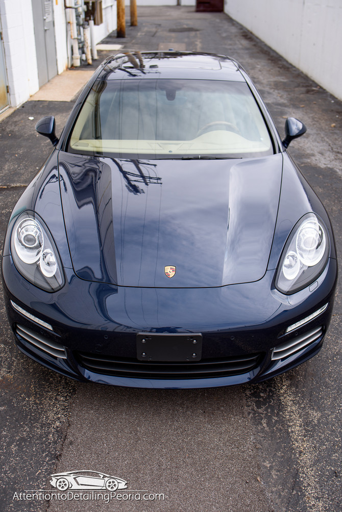 2015 Porsche Panamera Elite Enhancement Detail + Premium Nano Coating