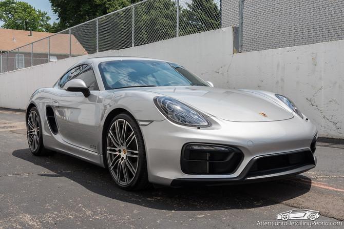 2015 Porsche Cayman GTS - Premium Enhancement Service