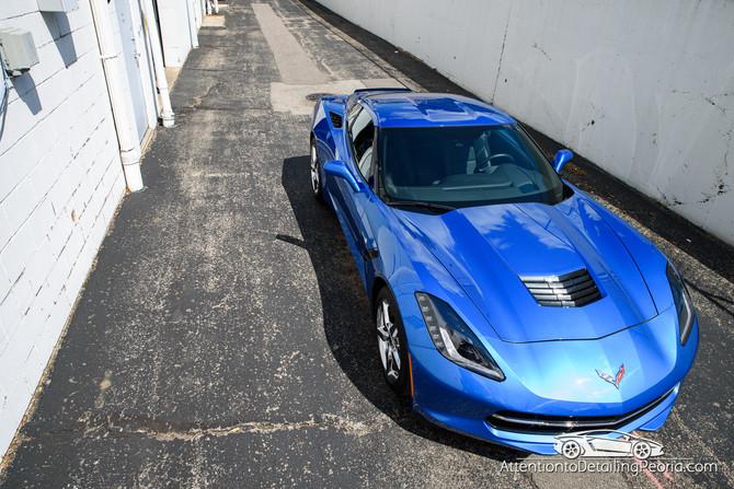 2014 Corvette Stingray Premium Enhancement + Elite Nano Coating
