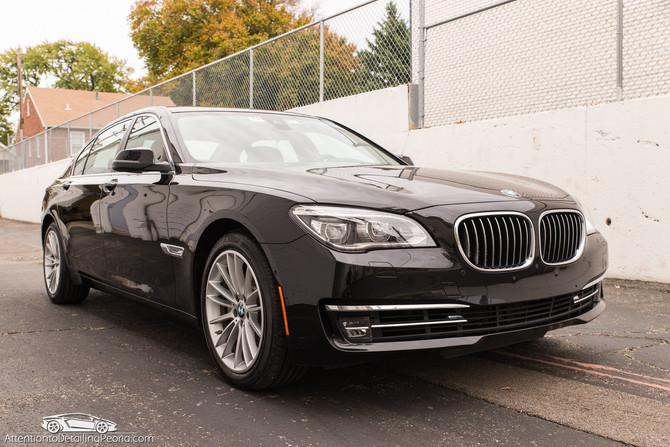 2014 BMW 750 LI - Elite Enhancement & Nano Coating