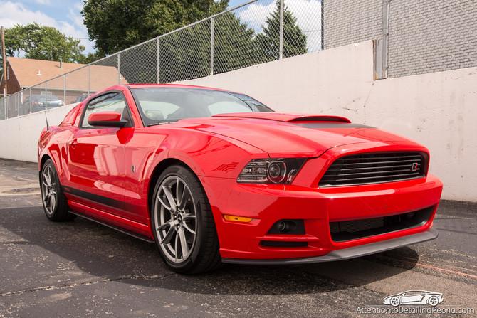 2013 Roush Mustang - Elite Enhancement Service & Nano Coating