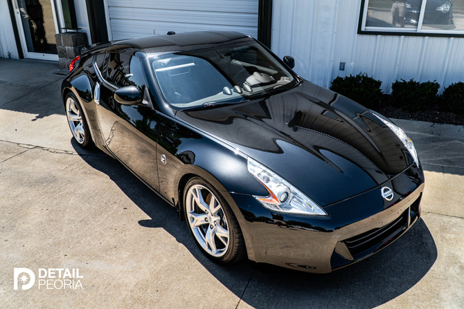 2009 Nissan 370Z - 2 Step Paint Correction & Ceramic Coating