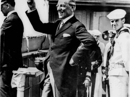 Pat Buchanan: Now It's Woodrow Wilson's Turn