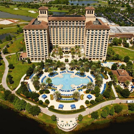 Checklist:  The Ritz, Grande Lakes Orlando, Florida