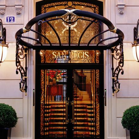 In Their Own Words     Hôtel San Régis, Paris