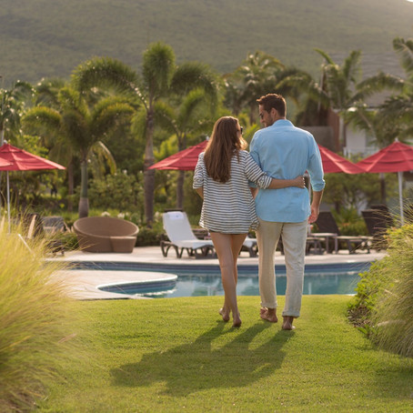 A Hideaway for Two on Nevis!