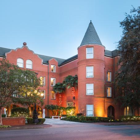 Resort Checklist:                         The Mansion on Forsyth Park    Savannah, Georgia