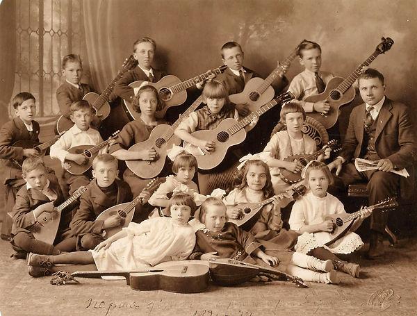 First Children's String Orchestra 1921 D
