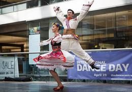 Dovbush Dancers at the 2016 International Dance Day Celebrations