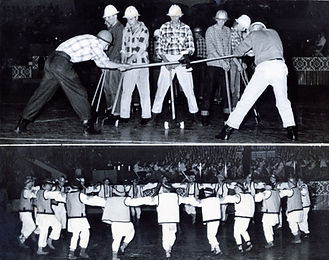 Performers at the Exhibition Auditorium