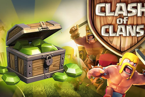 Clash of Clans Premium Gems Pack - 145,000 Gems