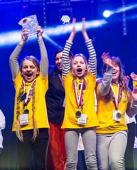 Ceremonia Zamknięcia Ogólnopolska Olimpiada Kreatywności