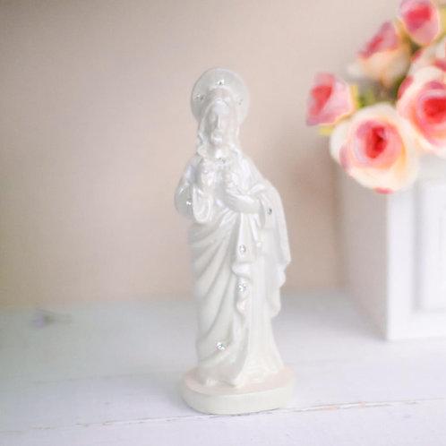 Imagem de Jesus em gesso