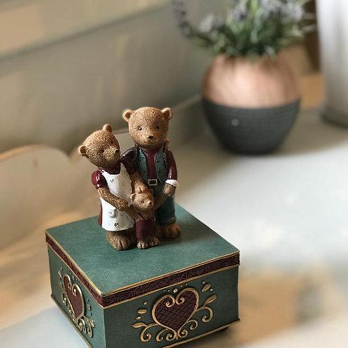 Caixa de música Ursos