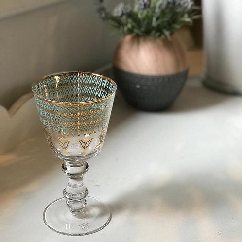 Taça de vidro cristal