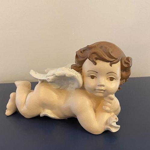 Peça de gesso Anjo bebê