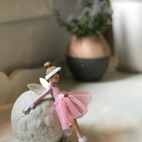 Adorno Bailarina e Lua