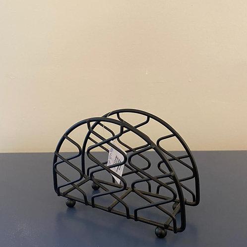 Porta-guardanapo de ferro