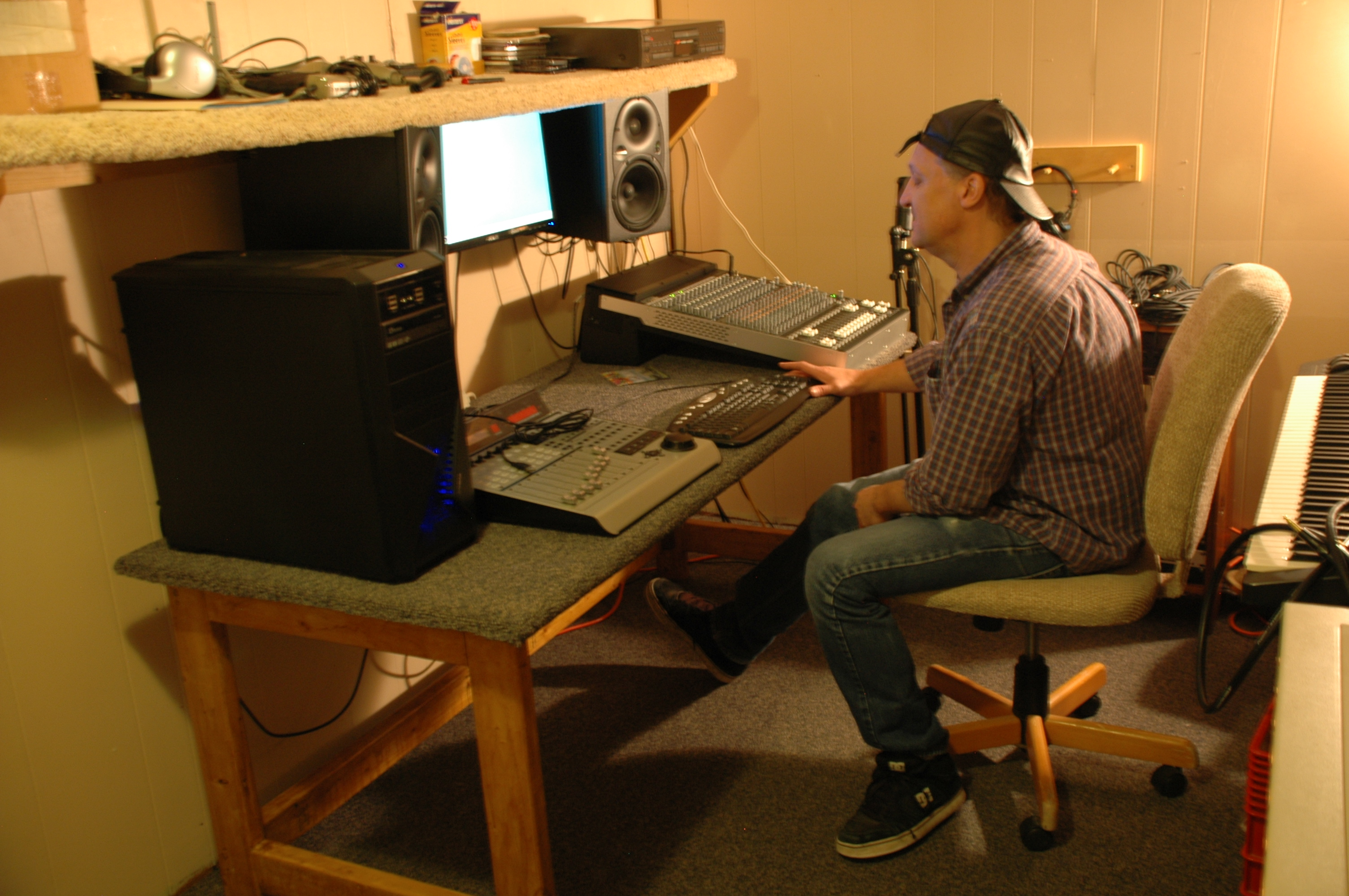 recording studio-album cover 294