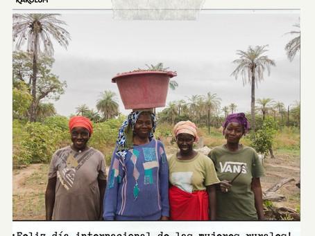 ¡Feliz día internacional de la mujer rural!