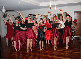 Spanish Dancing | Dancing Hens Night | Gold Coast