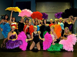 Moulin Rouge Fan Dancing | Dancing Hens Night | Gold Coast