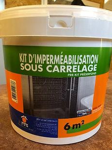 Kit d'imperméabilisation sous carrelage 6m²