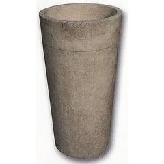 Colonne Vasque Conique Lisse Travertin Beige 90x42