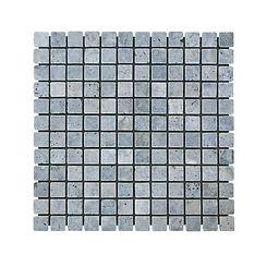 Travertin Silver 2.5x2.5x1