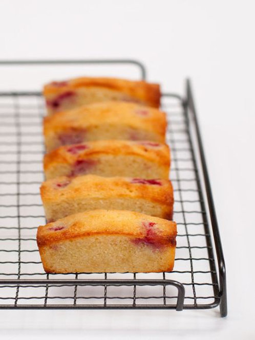 Financier – Raspberry 費南雪金磚蛋糕(紅桑子)