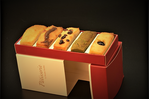 Financier 費南雪金磚蛋糕(5種口味)