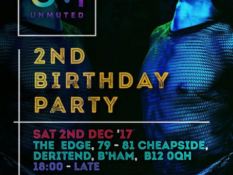 UNMUTED's 2nd Birthday Party