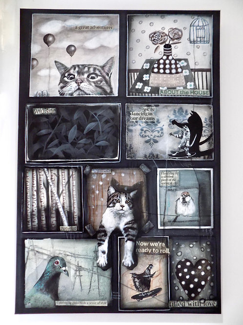 The Cat Lovers Gallery Wall Collection