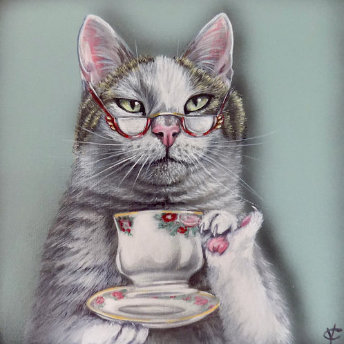Margo knew with a bit of patience and a cup of tea everything would be alright
