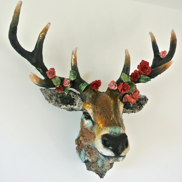 Large Stag trophy head