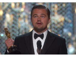 DiCaprio invites us to save the planet