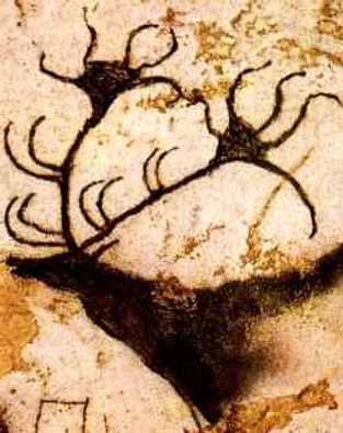 Stag Cave Art Shamanic Healing Melbourne