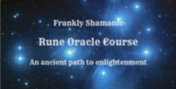 Frankly Shamanic Rune Oracle Course Melbourne Australia