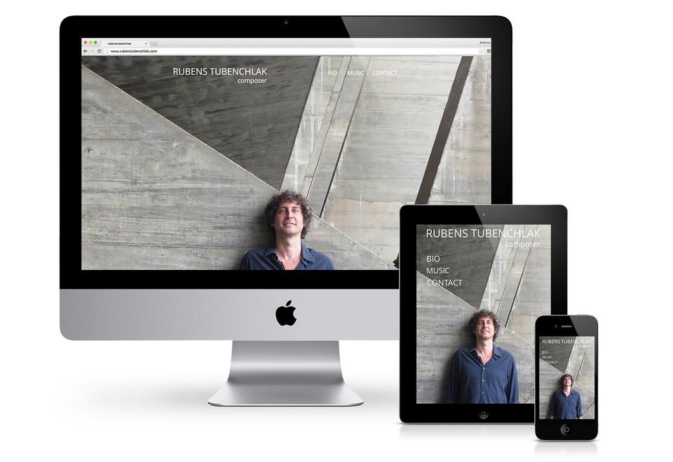 Website Rubens Tubenchlak