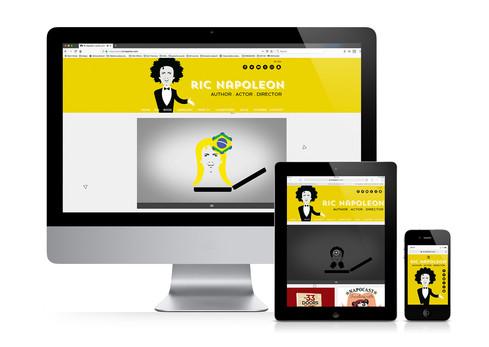 Website Ric Napoleon