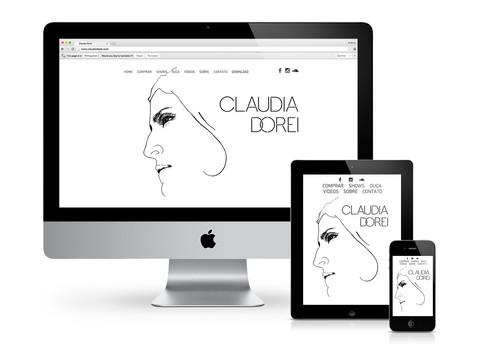 Website Claudia Dorei