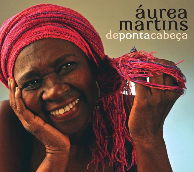 Capa CD Depontacabeça| Aurea Martins