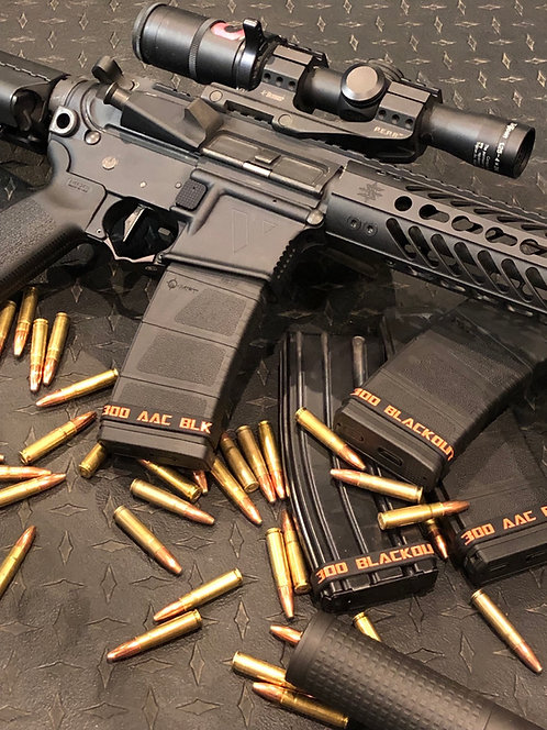 300 AAC BLK Mag ID Bands