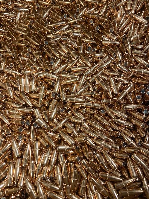 1000 Hornady 22 cal .224 55gr FMJ BT w/ cannelure