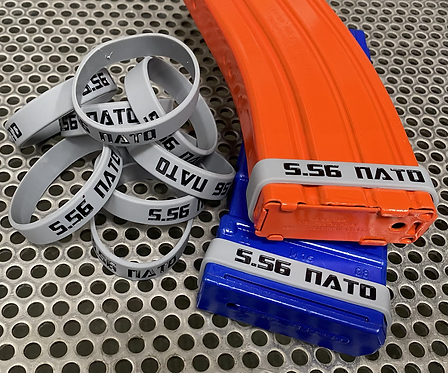 5.56 NATO Mag ID Bands