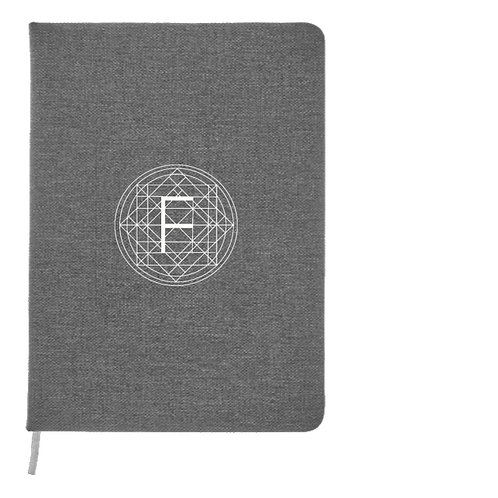 Flo Vortex 'Denim' effect notebook
