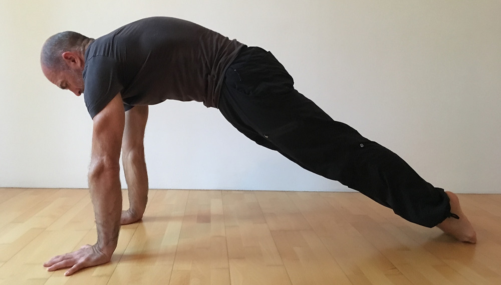 Hollow back plank - try to build up to 1 minute