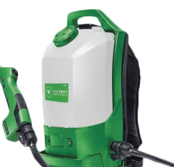 $1595 - Electrostatic Disinfectant Backpack Sprayer