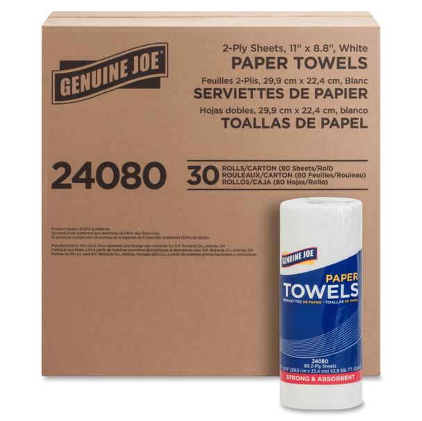 $28.59 CT– Paper Towels, GJO24080 -